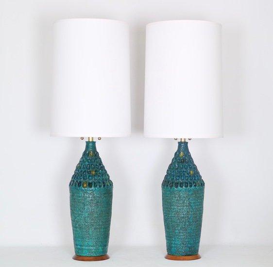 Brutalist style pair of lamps sergio jaeger treniq 1 1517944022136