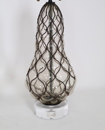 Murano caged glass lamps by marbro sergio jaeger treniq 1 1517944683163