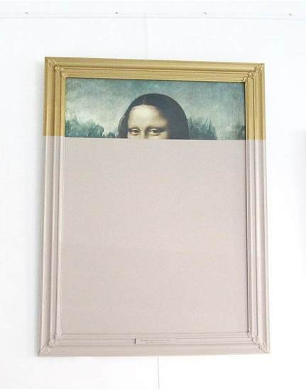 Peekaboo monalisa   restyled canvas habitat improver   furniture restyle and applied arts treniq 1 1518022690782