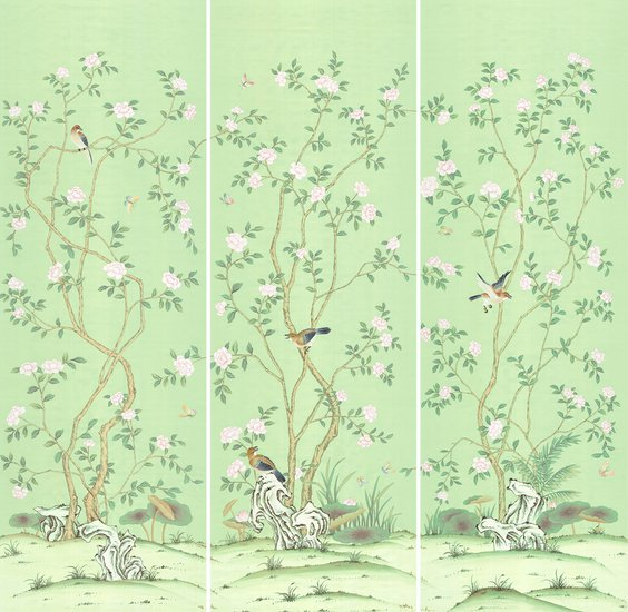 Lantilly emerald mural peter evans treniq 6 1518124328327