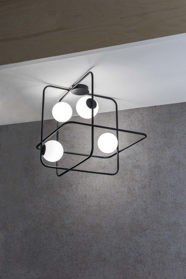 Intrigo rectangular suspension lamp black marchetti treniq 1 1518165656498