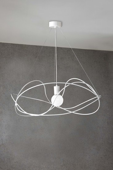 Garbuglio suspension lamp with glass sphere white marchetti treniq 1 1518174299564