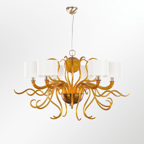 Murano contemporary chandelier tourbillon multiforme treniq 1 1518184043580