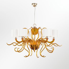 Murano-Contemporary-Chandelier-In-Amber-Tourbillon_Multiforme-Lighting_Treniq_0