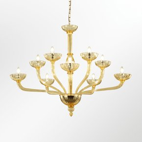 Velvet-Venetian-Amber-Chandelier_Multiforme-Lighting_Treniq_0