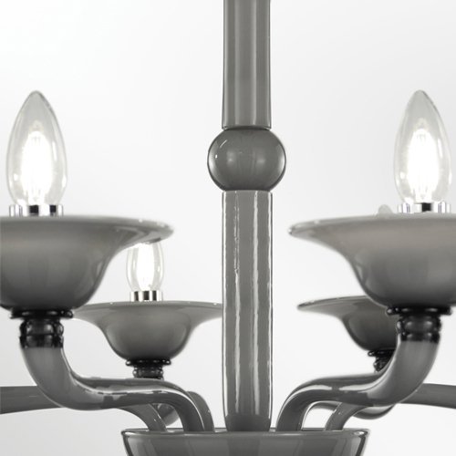 Blown glass chandelier tobia multiforme treniq 1 1518185957287