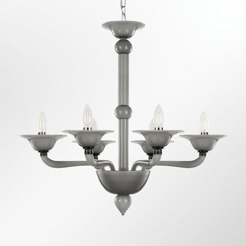 Blown glass chandelier tobia multiforme treniq 1 1518185957286