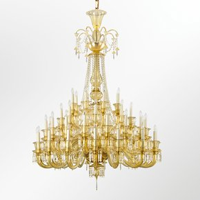 Artistic-Chandelier-Amber-Murano-Glass-Pasternak-_Multiforme-Lighting_Treniq_0