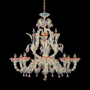 Multicolor-Ca'-Rezzonico-Caesar-Chandelier_Multiforme-Lighting_Treniq_0