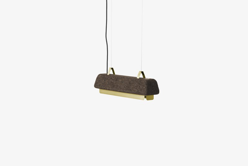 Cortina small pendant lamp   antique gold dam treniq 1 1518526865362