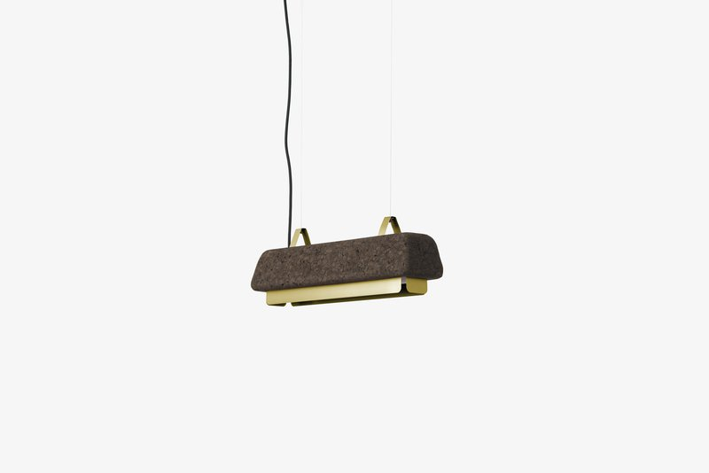 Cortina small pendant lamp   antique gold dam treniq 1 1518526869716