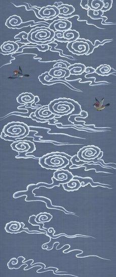 Celeste blue mural mural sources treniq 4 1518546732934
