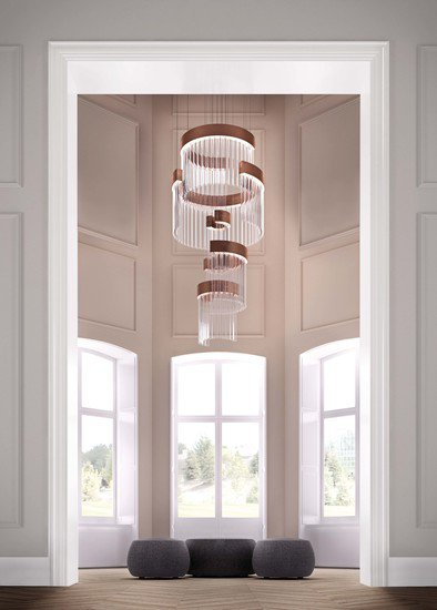 Ice 400 suspension lamp bronze marchetti treniq 1 1518597939588