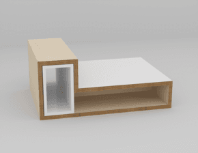 Coffee Table Meli Melo easy