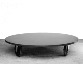 Coffee Table Round Concrete O²