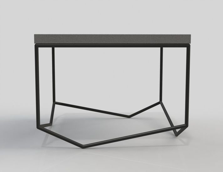 Concrete Table Bancale The Square