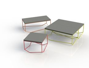 Table Rectangular Concrete the Bancale