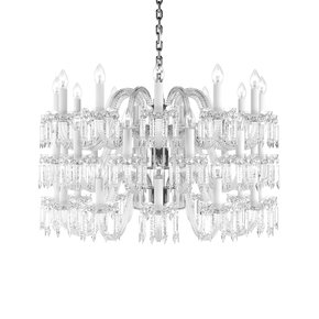 Crown Crystal Chandelier Small