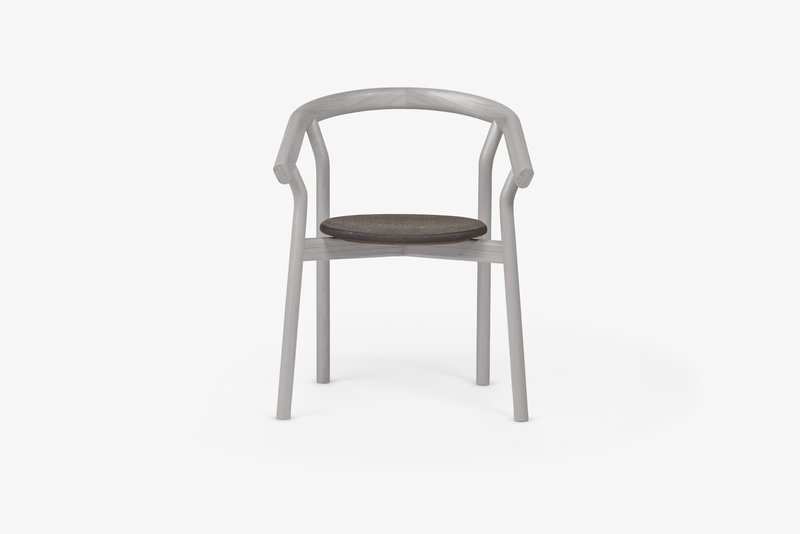 Dora chair   elegant grey dam treniq 1 1518635459540