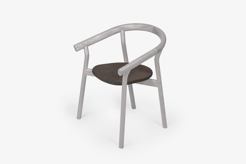 Dora chair   elegant grey dam treniq 1 1518635518619