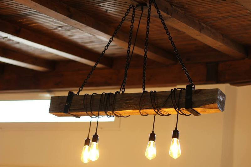 Vintage Wood Lighting Fixtures
