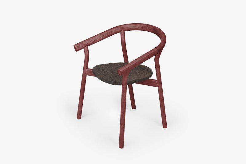 Dora chair   luxury red dam treniq 1 1518692035647
