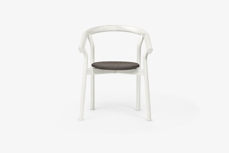 Dora chair   warm white dam treniq 1 1518693115893
