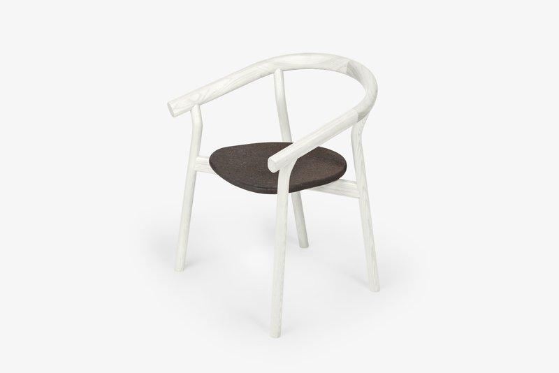 Dora chair   warm white dam treniq 1 1518693123783
