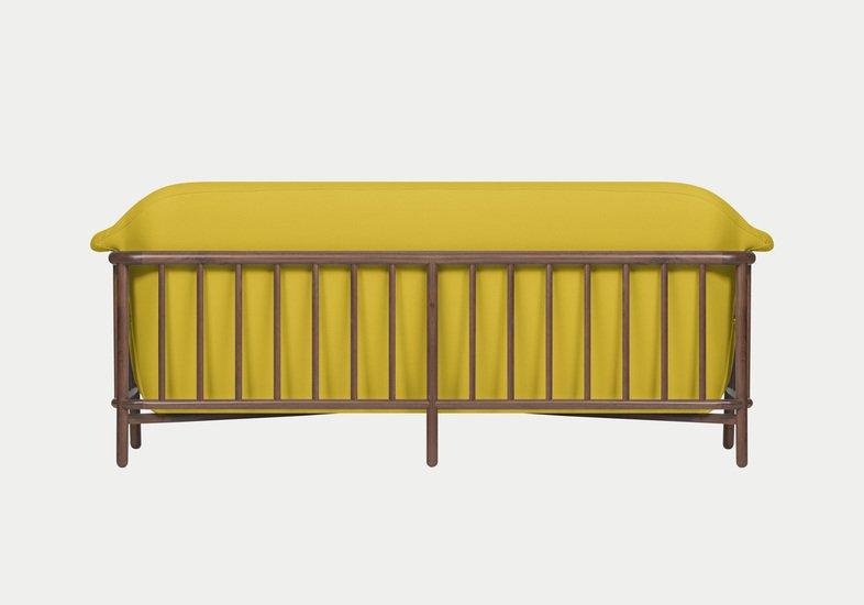 Valentim sofa   walnut   step fabric   dry yellow dam treniq 2 1518696150485