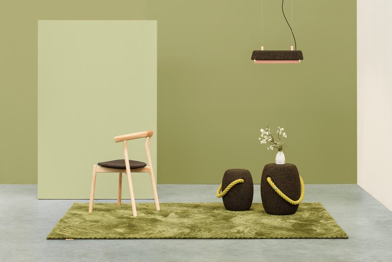 Pipo stool or side table   small size   dry yellow dam treniq 1 1518716751630
