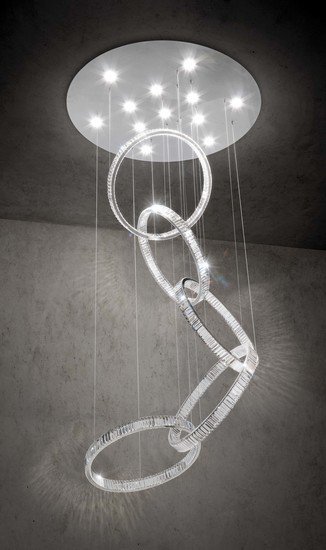 Olympia 30 single pendant lamp nickel marchetti treniq 1 1518776328490