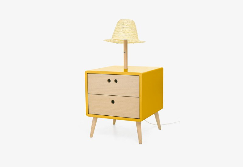 Nel bedside table with lamp   dry yellow dam treniq 1 1518778795376