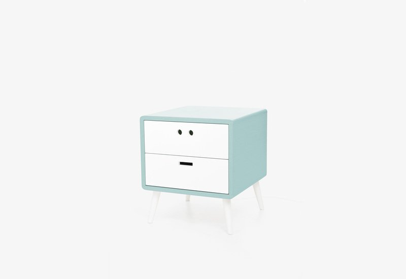 Mario bedside table   baby blue dam treniq 1 1518780786094