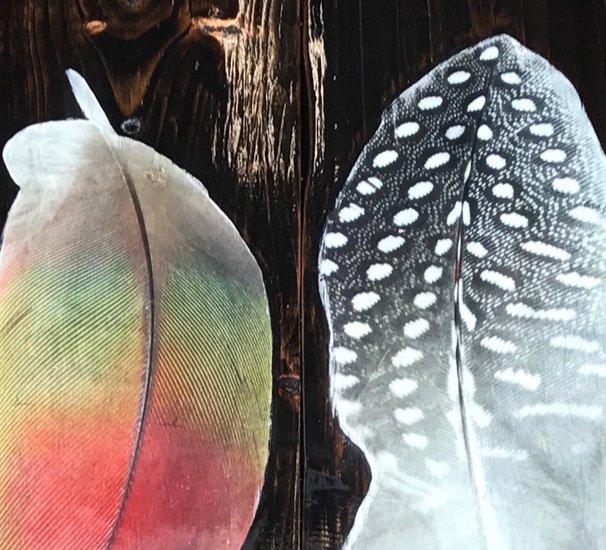 Bird feather coffee table with glass top cappa e spada bespoke furniture designs treniq 1 1518804919129