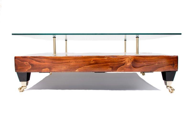 Antique world map coffee table with glass top cappa e spada bespoke furniture designs treniq 1 1518805778693