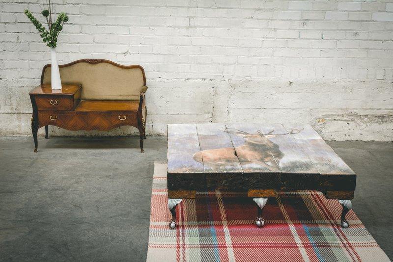 Highland stag coffee table (no glass) cappa e spada bespoke furniture designs treniq 1 1518807268768