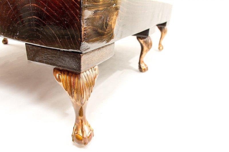 Grand 8 legged queen elizabeth i reclaimed coffee table (no glass) cappa e spada bespoke furniture designs treniq 1 1518807578692