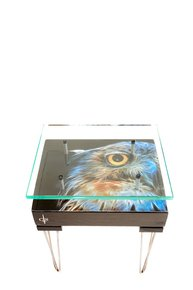 Electric-Owl-Side-Table-With-Glass-Top-(Design-A)_Cappa-E-Spada-Bespoke-Furniture-Designs_Treniq_0