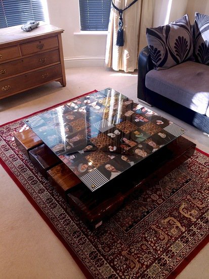 Checkered kings reclaimed coffee table with glass top cappa e spada bespoke furniture designs treniq 1 1518812246512