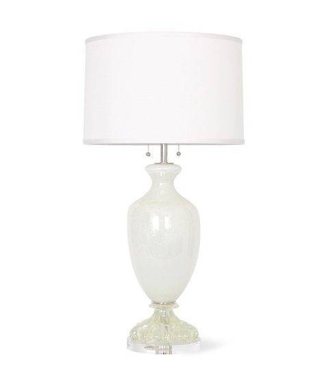 Large pearl white murano glass lamp by seguso sergio jaeger treniq 8 1518844093522