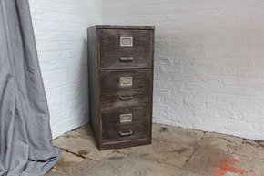 Christie Reclaimed Vintage Filing Cabinet