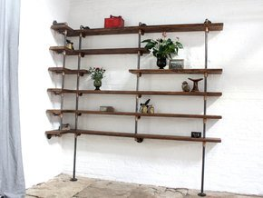 Niko Floor and Wall Mounted Corner Shelving