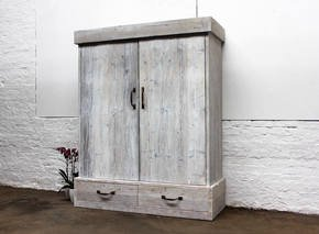 Jenna Reclaimed Wood Wardrobe
