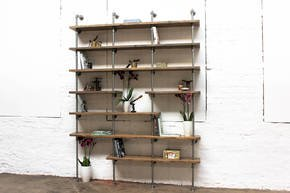 Karen Bespoke Reclaimed Walnut Bookcase