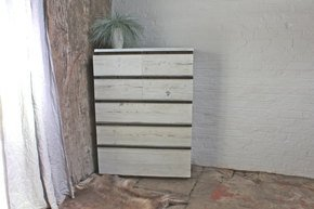Maxwell White-Washed Reclaimed Chest of Drawers