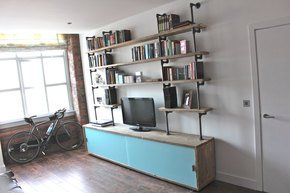 Simeon Reclaimed Bookcase