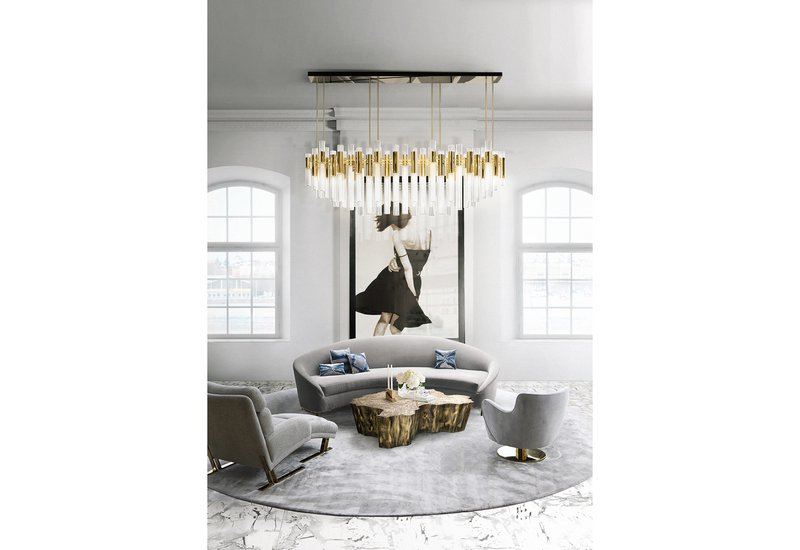 Waterfall chandelier luxxu treniq 5