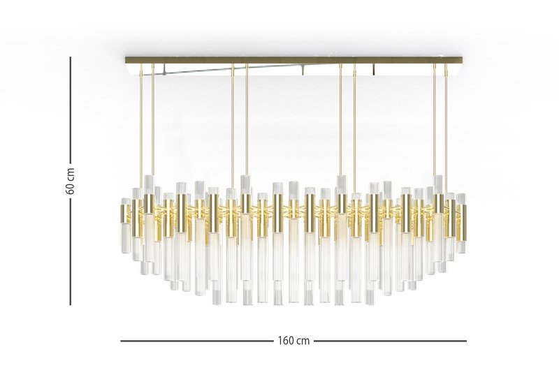 Waterfall chandelier luxxu treniq 6