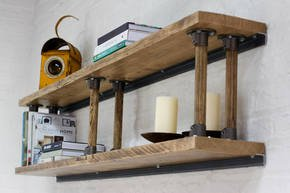Letty Reclaimed Scaffolding Shelves