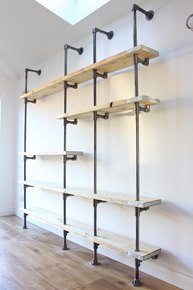 Wesley Wall Mounted & Floor Standing Shelves
